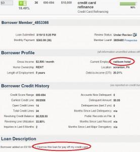 Lending Club Example bbb